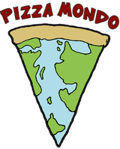 Pizza Mondo logo slice