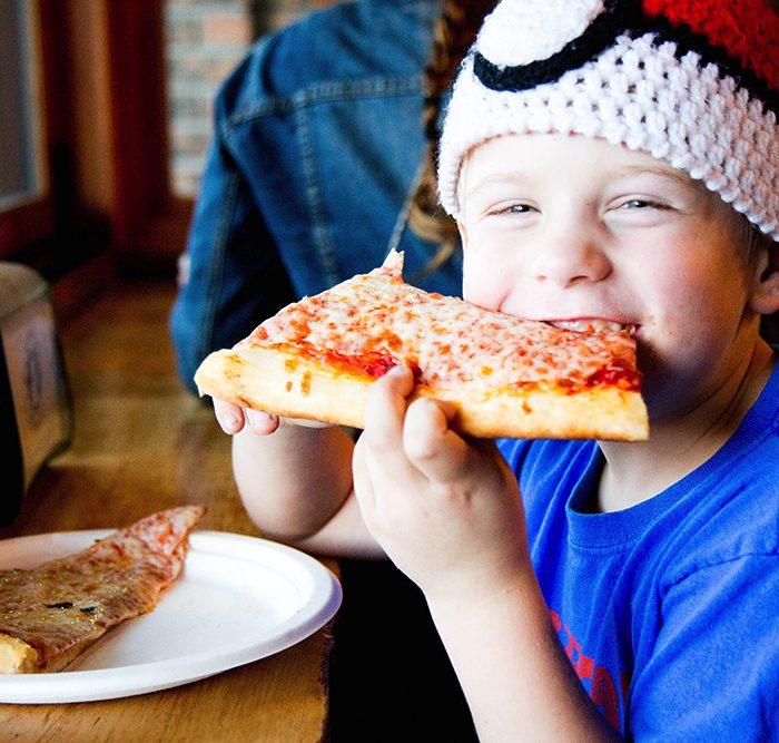 Pizza Mondo gallery happy boy