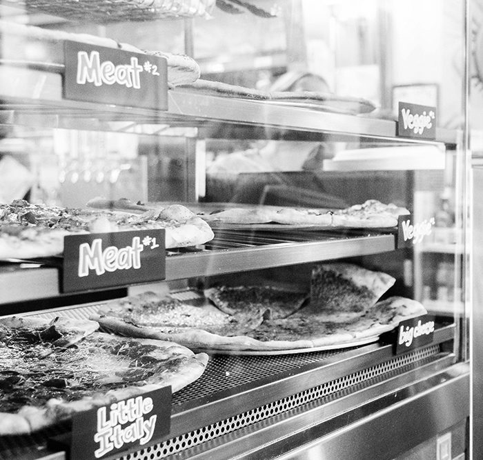 Pizza Mondo gallery slices